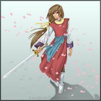 Swordsman Hotohori - Coloured by Ranefea