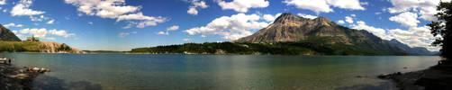 Waterton Panorama by Lancerlover