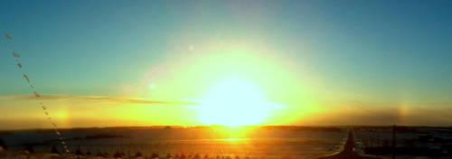 Sun Dog backdrop by Lancerlover