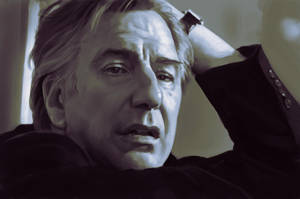 A Tribute to Alan Rickman by ConejoBlanco