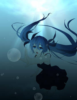 ~ Deep Sea Girl ~ by Camiko-tan