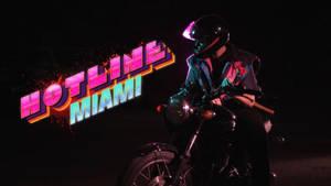 Hotline Miami | Biker by RonanN1