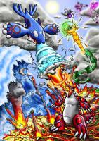Legendary Showdown by SpaceBoy969