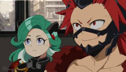 : [ Eijyomi ] BNHA OC fake screenshot : by bakawomans