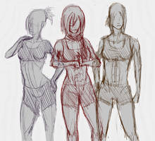 Shingeki No Practice by lllannah
