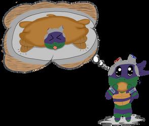 Pancake Donnie by x2rc096