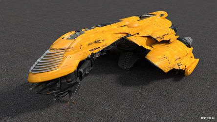 Federation-Battlecruiser by Frezzic