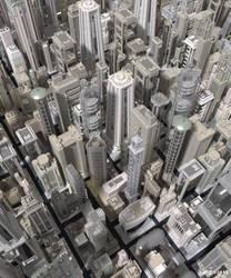 Dystopia City 1 by Frezzic