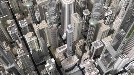 Dystopia City 2 by Frezzic