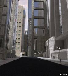 Dystopia City 3 by Frezzic