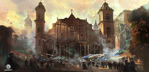 Assassin's Creed IV: Black Flag_Havana Cathedral by Donglu