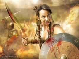 Iberian Warrior by Josh-Finney