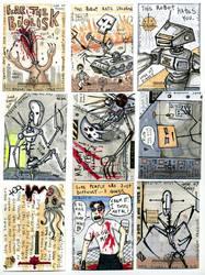 Friends electric Cards 1 by Josh-Finney