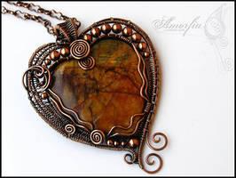 A  Heart of Gaia by amorfia
