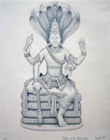 Vishnu by Kiminjo