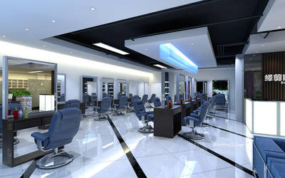 new design.Hair Saloon by SamWhisp