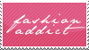 Fashion Addict Stamp by verisimility