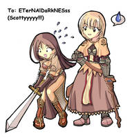 Yanilyn and ETErNAlDaRkNESss by Yanilyn