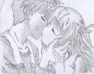 Kiss by kuchidzukeru