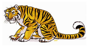 Old Tiger by lyosha