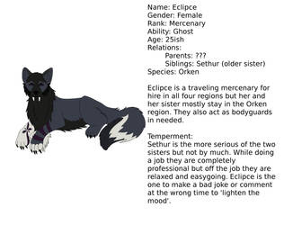 Eclipce Profile by howlingwolfstudio