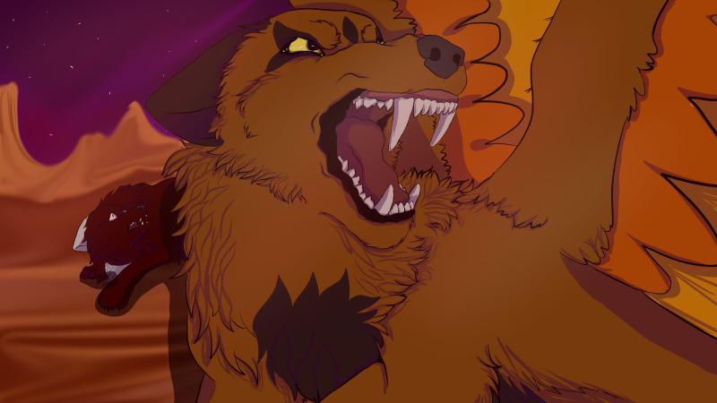 Over My Dead Body by howlingwolfstudio