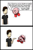 Kirby VS Sylar by littlemisskirby