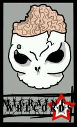 Migraine Wrecords Logo by addicttionnn