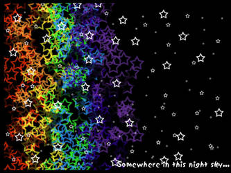 Somewhere in This Night Sky by addicttionnn