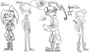 IZ random concept doodles by RadioDemonDust