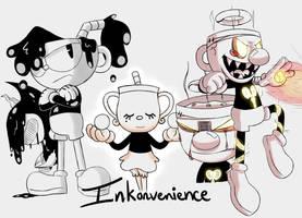 Inkonvenience doodles by Glitched-Irken