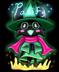 Umokori as Ralsei commission by Glitched-Irken