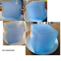 tesseract made from ice :) by sasukeharber