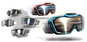 snowboard goggle designs by ecco666
