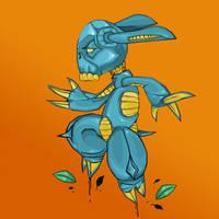 Cyber-Bunny by BoredBored