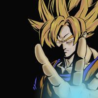 Goku by BoredBored