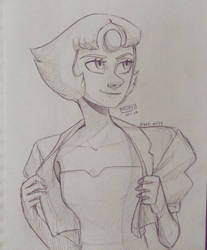 (WIP) Pearl's new outfit by Bel-Art27