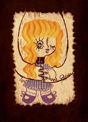 Niwawa - art print by pigologist