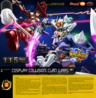 115 M3con09 CosCol Clan Wars by mangaholix