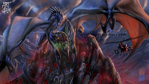 July Jam Hostile Dragon by mangaholix