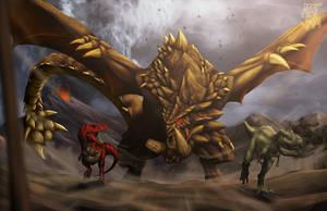 July Jam Dragon Fire Four by mangaholix