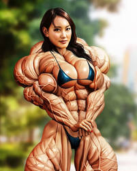 Asian girl by rombosman01