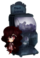 [Gashapon] Urban Legends [CLOSED] by ShatteredSightAdopts