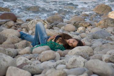 Stock at Beach by catarinamzfernandes