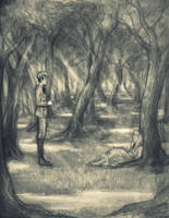 The Wood Between the Worlds by Felt-heart