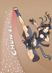 Neo Chun-Li by Hunter-Wolf