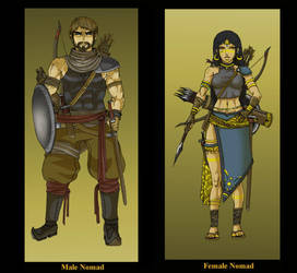 The Nomad - 2 sides of a Class by Hunter-Wolf