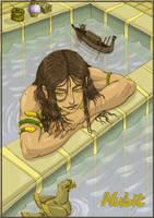 Nubit: A Relaxing Bath by Hunter-Wolf