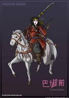 Warrior Women: Tomoe Gozen by Hunter-Wolf