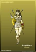 Warrior Women: Arachidamia The Spartan Princess by Hunter-Wolf